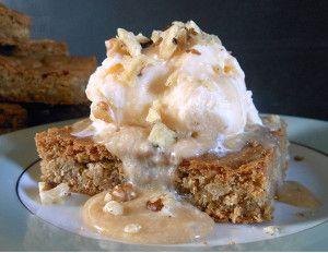 Maple Walnut Blondies | AllFreeCasseroleRecipes.com -- This is a go to ...