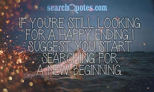 New beginning Quote