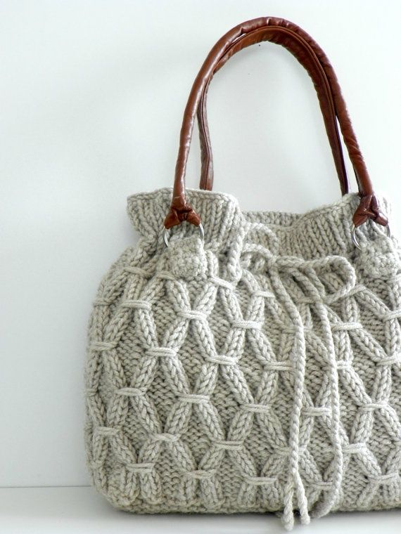 Knitted Purse : knitted bags