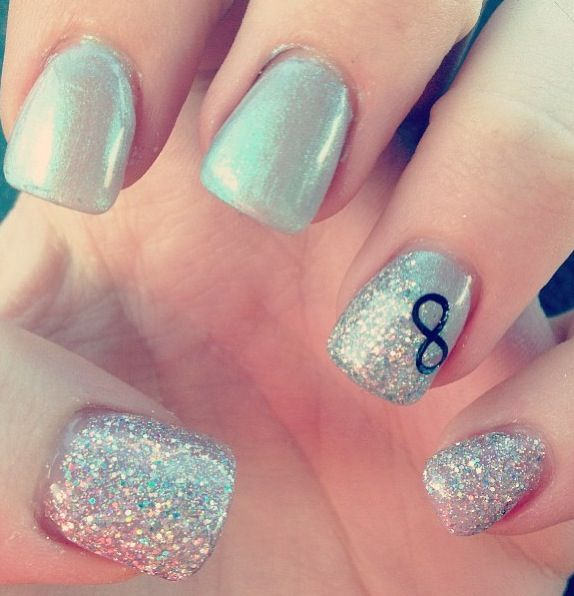 Go Back > Gallery For > Infinity Nail Design