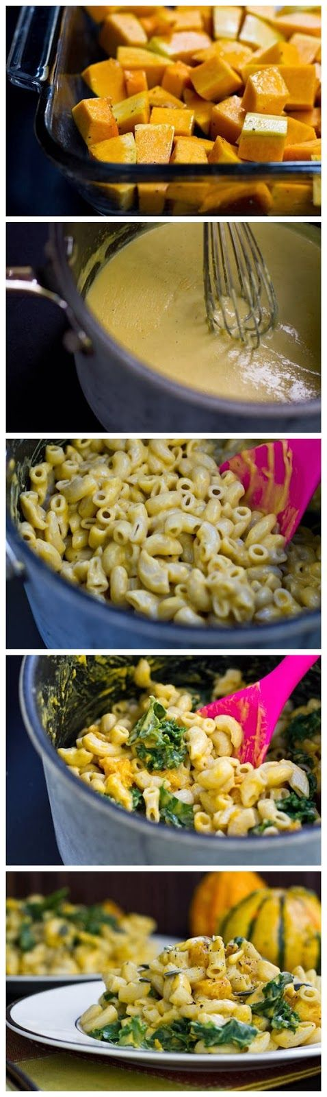Butternut Squash Mac 'n Cheeze | delish | Pinterest