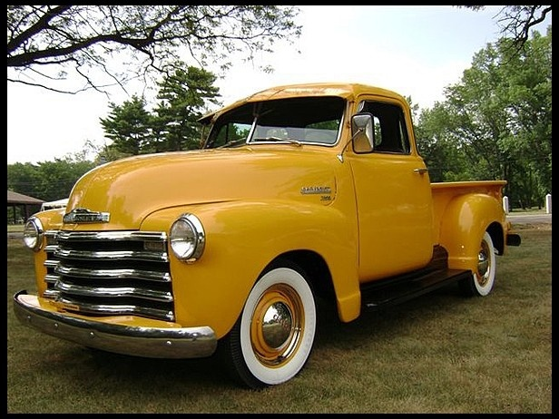 1952 chevrolet 5 window auto pinterest for 1952 5 window chevy truck