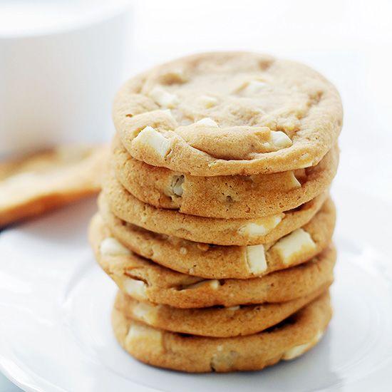 White Chocolate Cookies Recipe Diethood White Chocolate Chunk Cookies ...