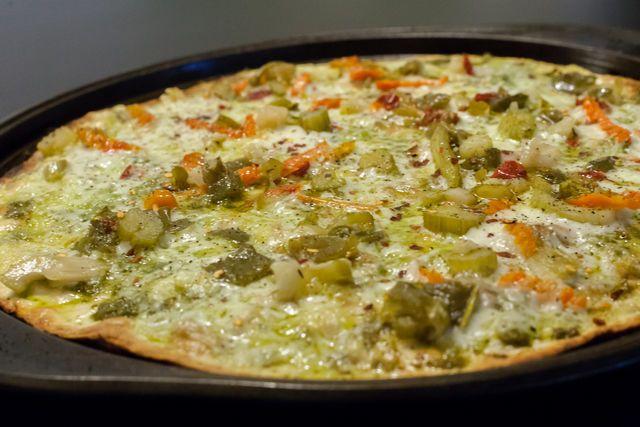 Quick and Easy Thin Crust Pizza Dough | FOOD (VEGETARIAN/VEGAN) | Pin ...