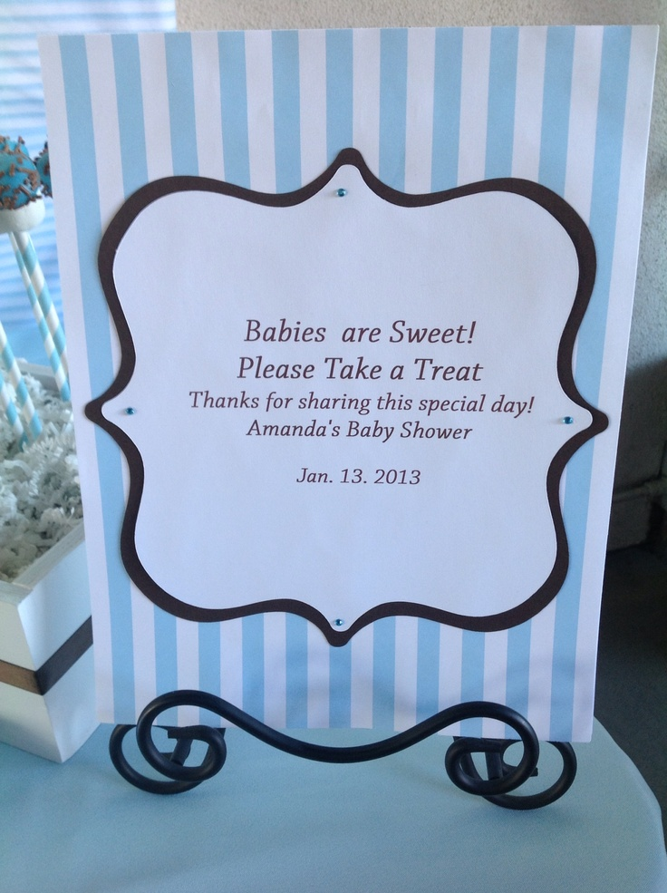 cute sign candy ideas favors candybuffet candytable babyshower
