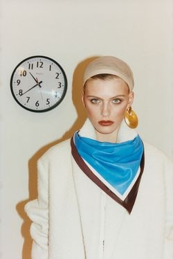 Oyster Magazine 100th Issue  Shot by: Tung Walsh  Styling: Stevie Dance  Model: Madison Hope Headrick