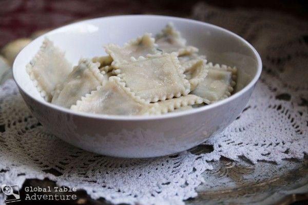 Alfred's Pork Ravioli Recipe — Dishmaps