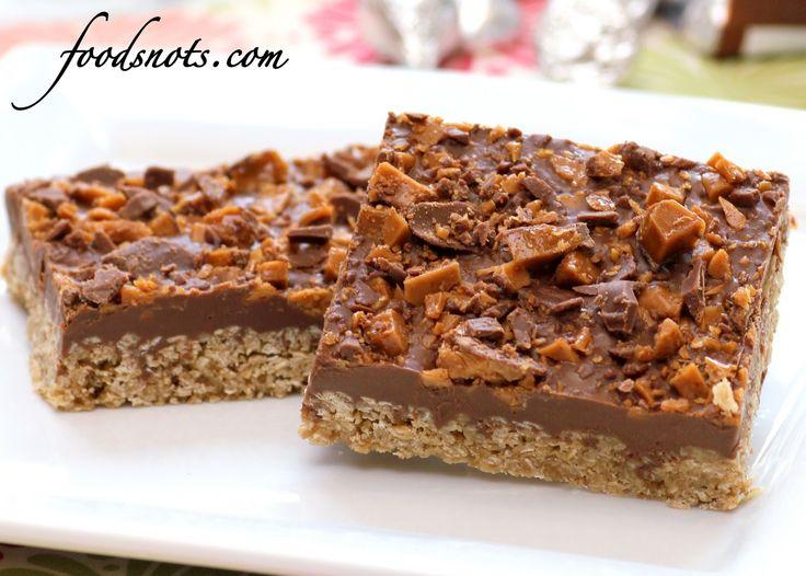 Chocolate Oatmeal Rice Krispie Bars   * Dessert Bars   Pinterest