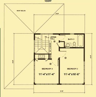 small house plan | Plans | Pinterest: pinterest.com/pin/16818198583199688