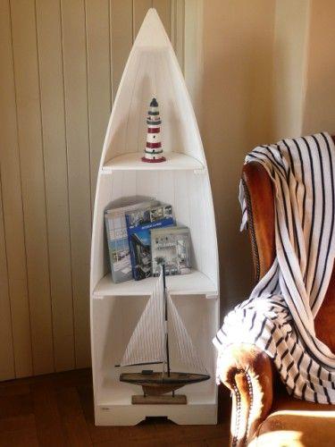 ... Shelves Boat Shelf: Nautical boat shelf. Wood canoe boat shelves