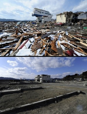 How Japan has rebuilt in the 11 months since the earthquake and tsunami...wow.