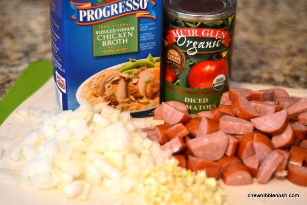 Slow Cooker White Bean & Kielbasa Stew | Recipe