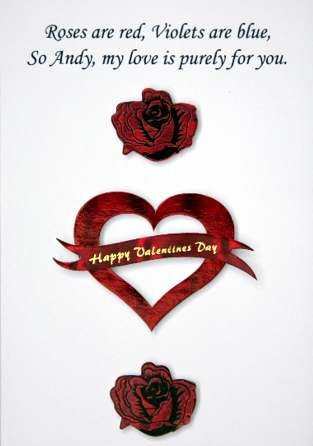 valentine day card email
