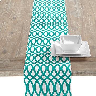table z runners gallerie Pinterest House Inspiration Aquamarine table     Geo $34.95  runner,
