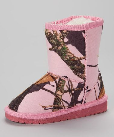 This pink infinity camo boot kids by dawgs is perfect zulilyfinds