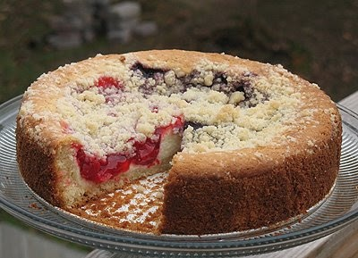 Cherry Cream Cheese Coffee Cake | Amanda's Cookin'
