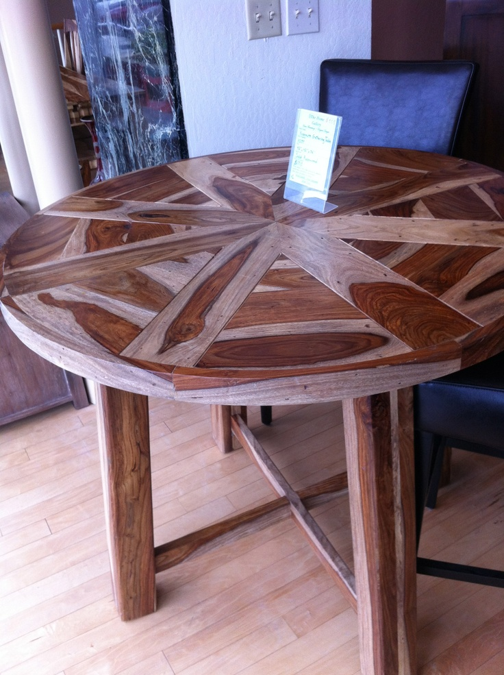 Love the looks of this table, wish I knew where to find it.