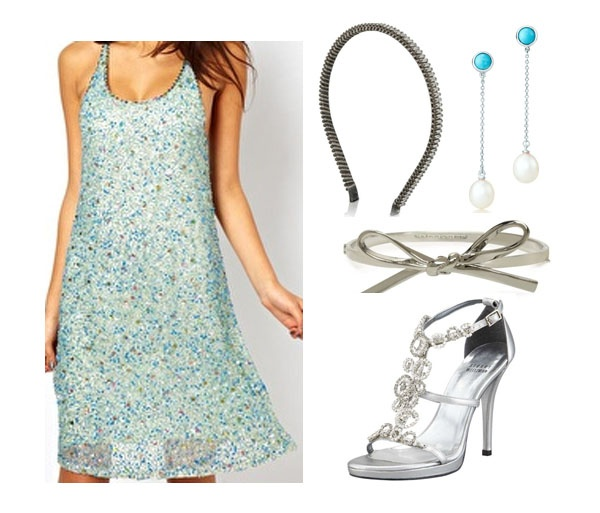 outfit inspired by blair waldorf's wedding dress