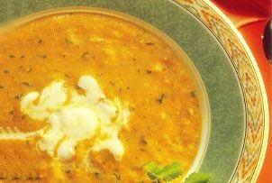 Lentil Soup With Lemon Yogurt Cream Recipes — Dishmaps