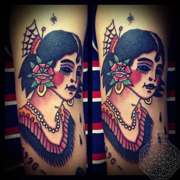JACA Tattoo  Le Loup Seul Toulouse Inkspiration Pinterest