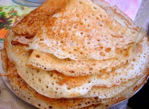 Тесто на блины на молоке тонкие с дырочками с фото пошагово