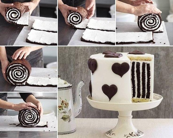 Необычные торт своими руками