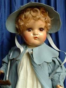 Baby Genius doll, antique composition