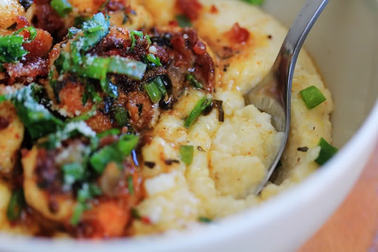 Carnal Dish - shrimp and parmesan grits | Recipes to Try | Pinterest