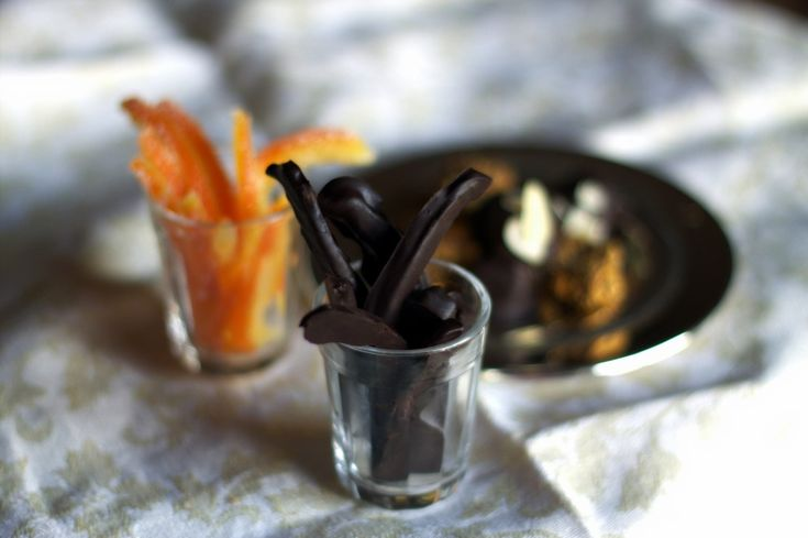 Chocolate covered candied orange peel. | COOKING CHOCOLATE | Pinter ...