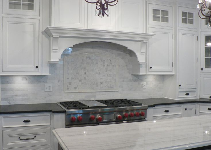 white carrera marble backsplash someday kitchen ideas pinterest