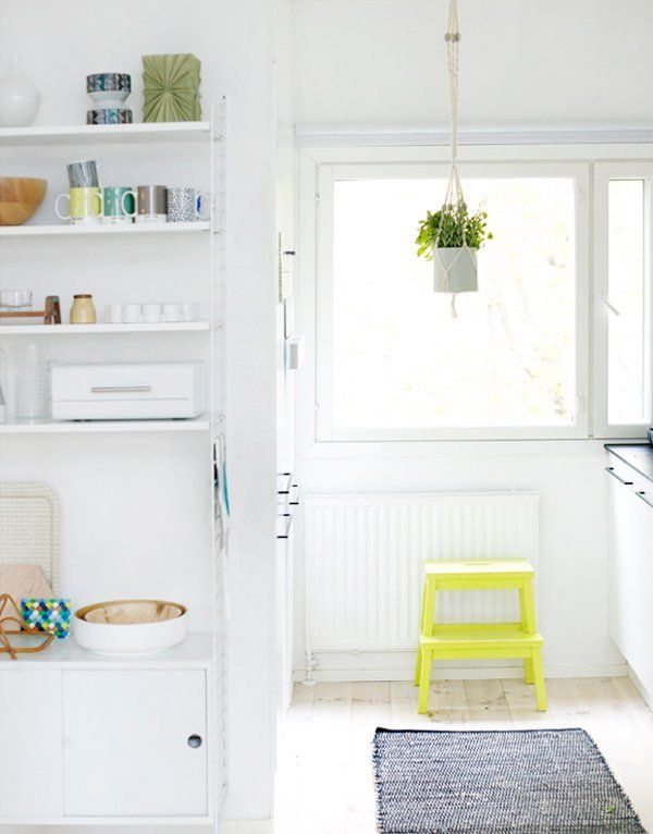 Popping Up in the Kitchen: The BEKVÄM Step Stool From IKEA Kitchen Inspiration