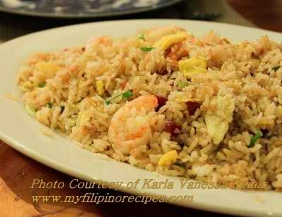 Sinangag Filipino Garlic Fried Rice Recipe