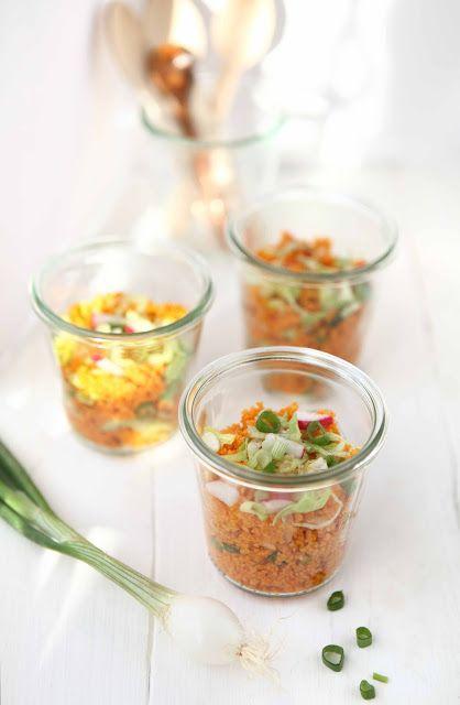 sabrinasue: spicy radish couscous salad...my picnic star