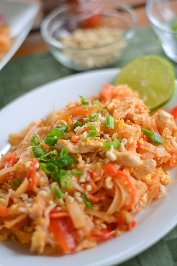Chicken Pad Thai... one of my very favorite dishes! Would love to ...