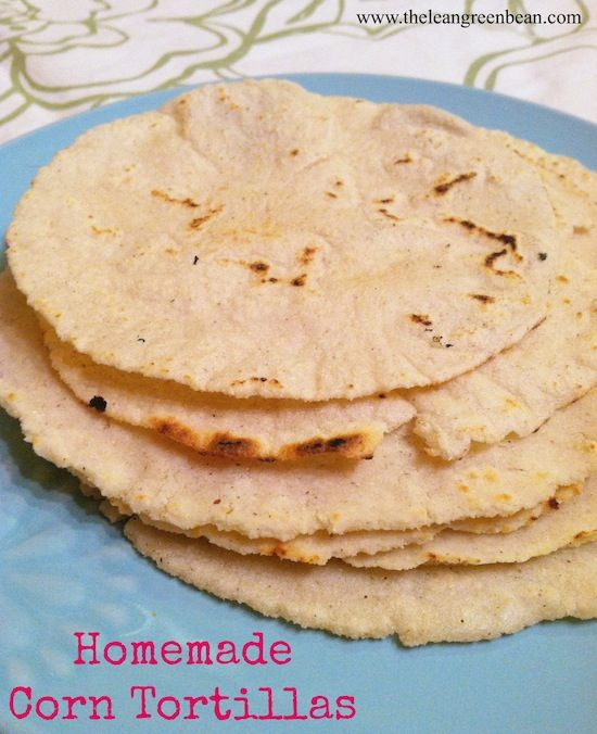 homemade corn tortillas 1 Homemade Corn Tortillas and Tortilla Chips