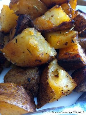 Truffle and Smoked Paprika Roasted Potatoes