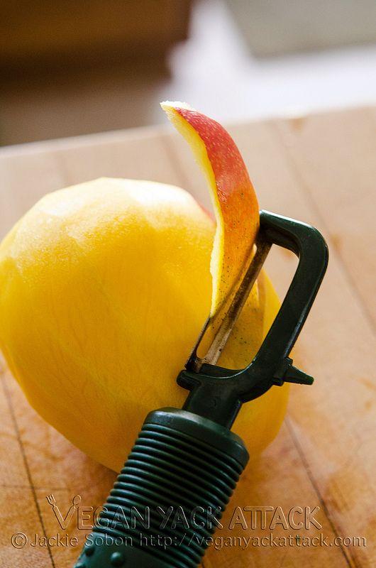 Mango Lime Sorbet Vegan Yack Attack | Vegan Yack Attack