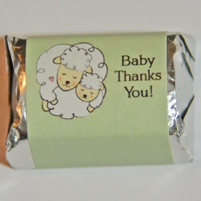 Sheep chocolate wrappers