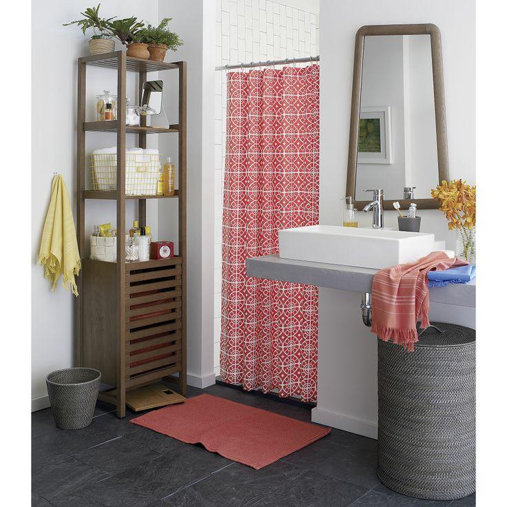 Taza Coral Shower Curtain