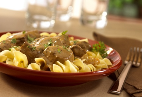 Classic Beef Stroganoff- On the table in just 30 minutes, this ...