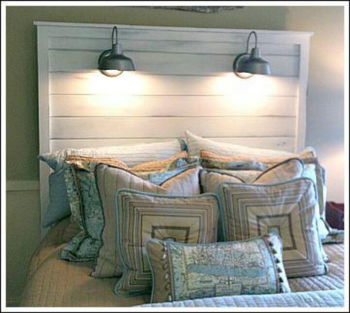 Headboard lighting home decor pinterest
