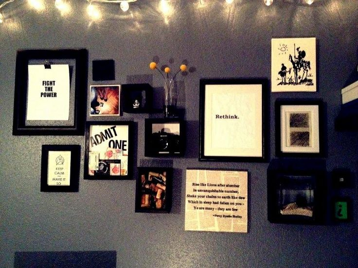 Diy Wall Art Collage : Wall collage office diy art