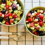 Tuna Pasta Salad Recipe with Lemon, Green Olives, and Cucumbers | Rec ...
