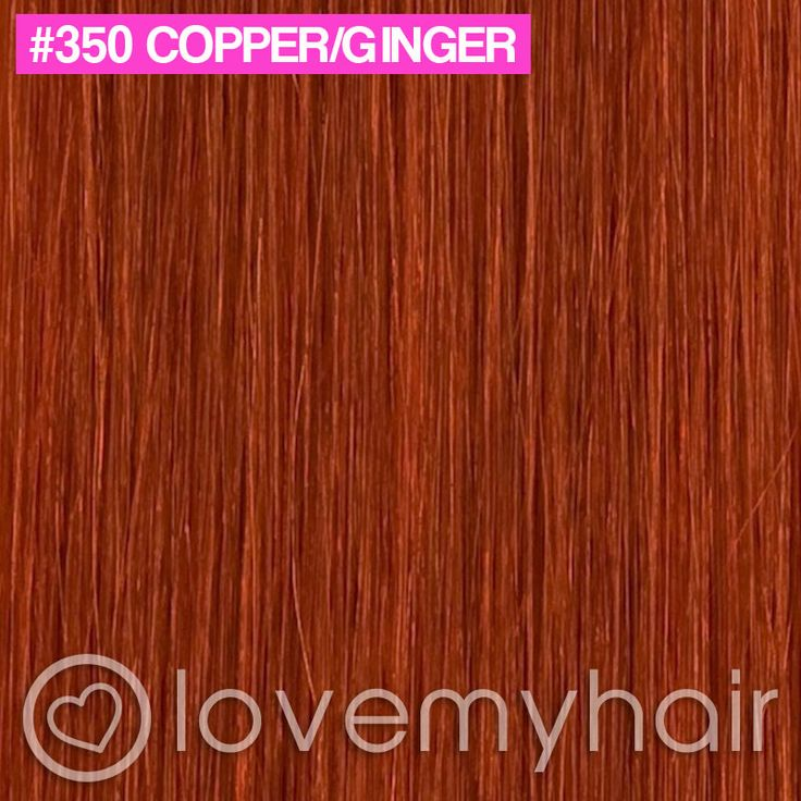 Ginger Real Human Hair Extensions 12