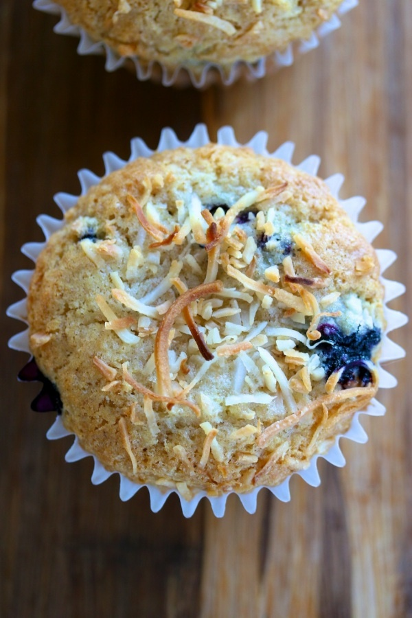 Blueberry Coconut muffins | Food love | Pinterest