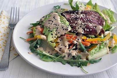 Sesame Ginger Steak Salad | Salads | Pinterest