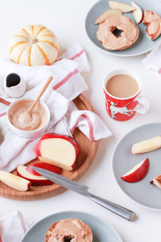 pumpkin spice cream cheese recipe | p o r n | Pinterest