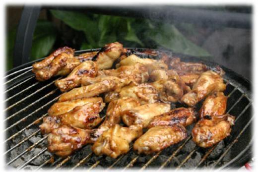 Grilled Buffalo Wings | Chicken Wings | Pinterest