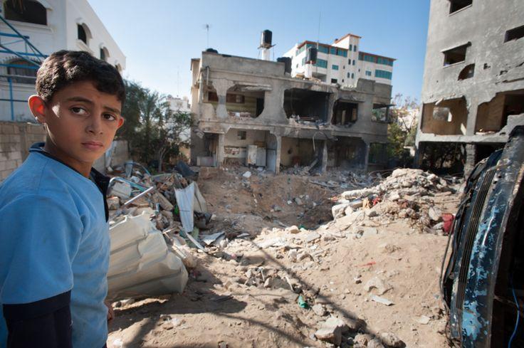 Imágenes: Gaza tras los ataques aéreos de Israel