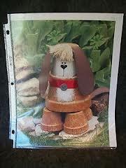 Flowerpot Watch Dog Clay Pot Craft Pattern | eBay